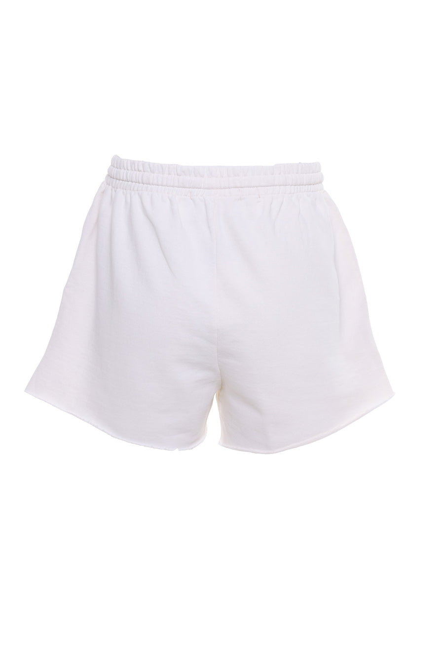 SHORTS MOLETOM OFF WHITE