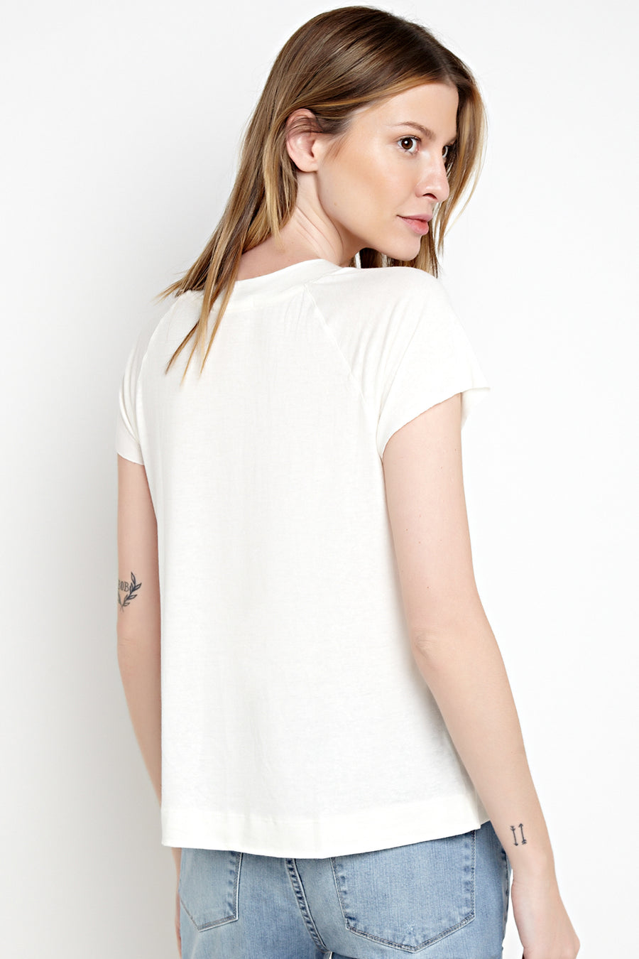CAMISETA RAGLAN OFF-WHITE