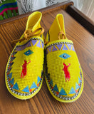Women's Native Moccasins (Different Colors Available)