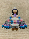 Fancy Shawl Native Dancer Earrings