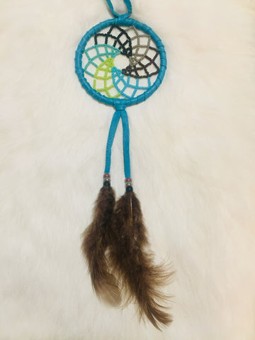 "3"" Beaded Dreamcatchers"