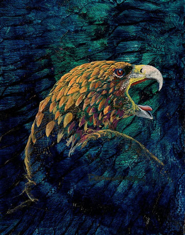 """The Eagle 2"", Original Native Canadian Painting"