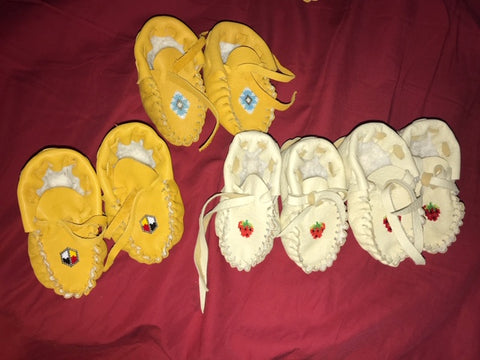 Native Canadian Baby Moccasins