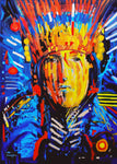 """Rekindle"", Original Native Canadian Acrylic Painting (Only 1 available)"