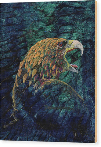 Eagle, Native Art - Wood Print