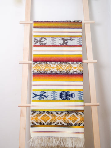 Traditional Hand-Woven Table Runner / Tablecloth for Two / Wall Decor