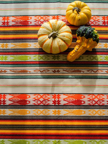 Handwoven Inca Wall Decor, Boho Table Runner