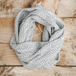 Alpaca Wool Infinity Fall Scarf, Warm & Lightweight