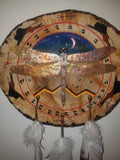 """Dragonfly Over Mountains"" Original Native Wood Home Decor"