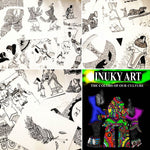 """Inuky Art ,The Colors of our Culture"" Stories & Coloring Book, Drawings, Inuit Knowledge"