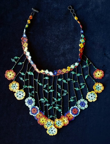 Mayan Indigenous Beaded Multicolour Necklace