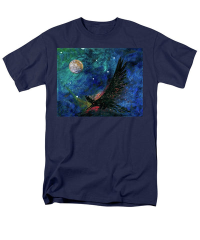 Raven Moon - Men's T-Shirt  (Regular Fit)