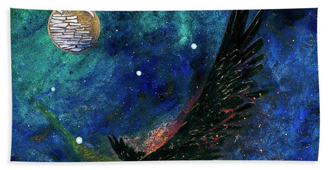 Raven Moon - Beach Towel