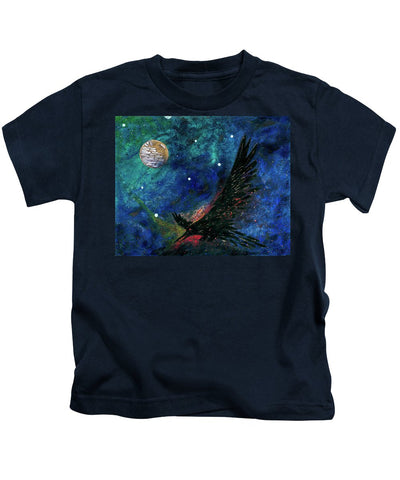 Raven Moon - Kids T-Shirt