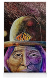 Sitting Bull Spirit Orbs, Native Artwork - Yoga Mat