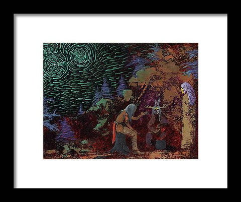 Storytellers - Framed Print