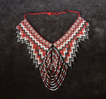 Mayan Style Indigenous Beaded Multicolour Necklace