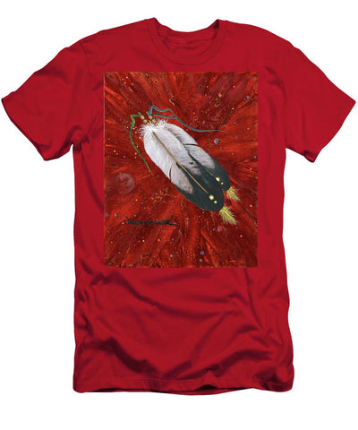 Two Feathers - T-Shirt
