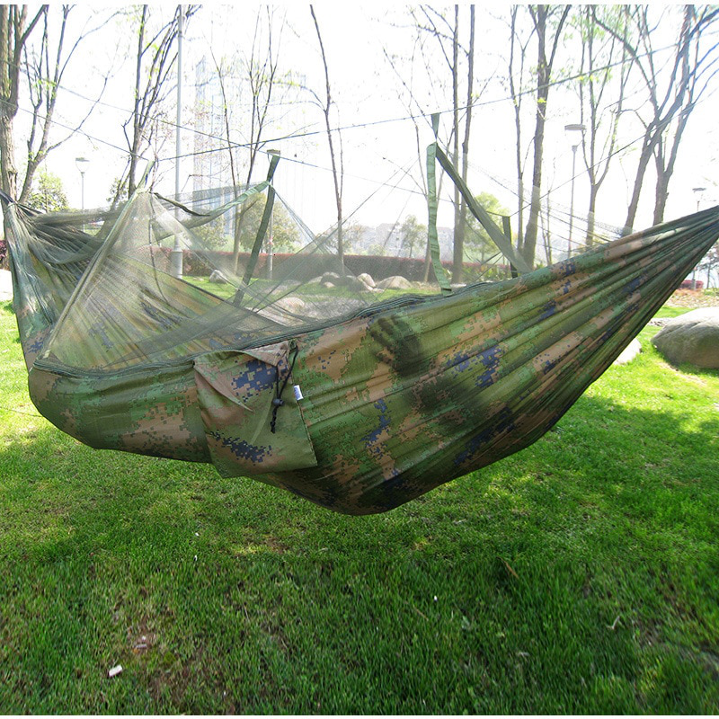 Portable Hammock For 2 With a Mosquito Net