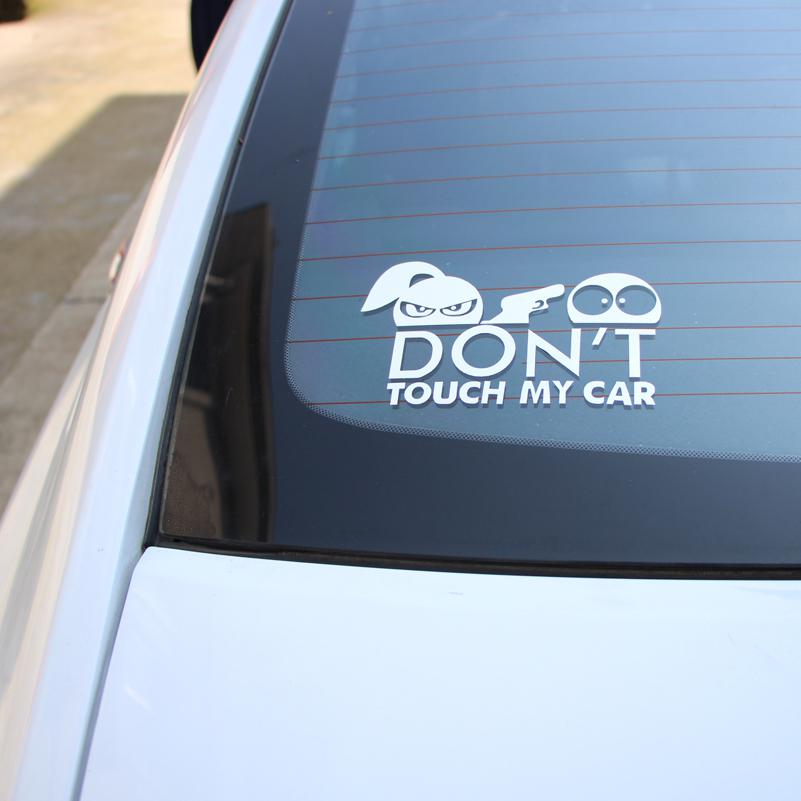 Warning Car Sticker - Don't Touch My Car