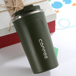 Double Stainless Steel Coffee Thermos