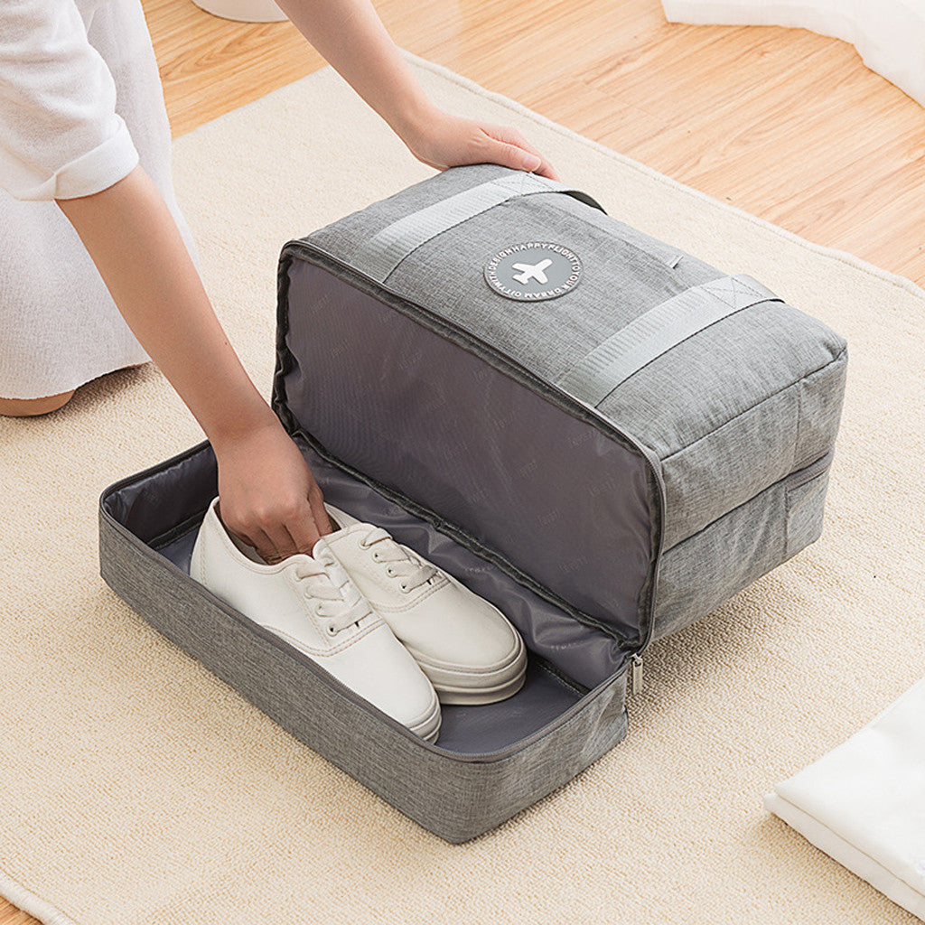 Traveling Luggage Bag - Separate Shoes Storage