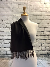 Load image into Gallery viewer, Cashmere Scarf (Black)