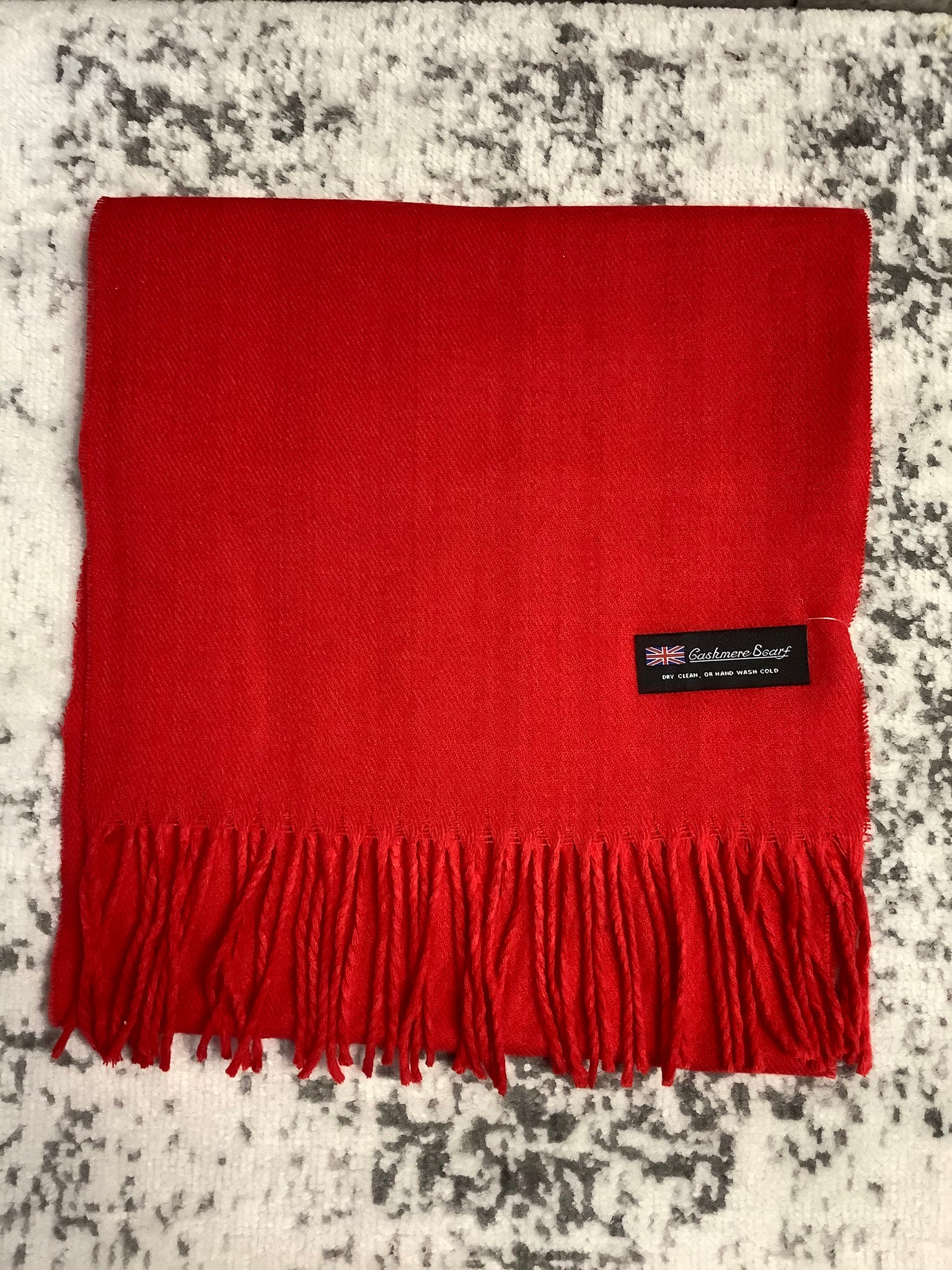 Cashmere Scarf (Red)