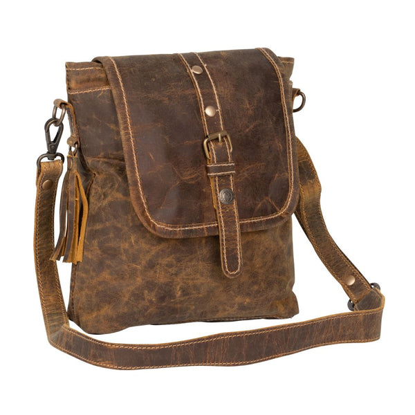 Myra Bag Brown beauty Leather Shoulder
