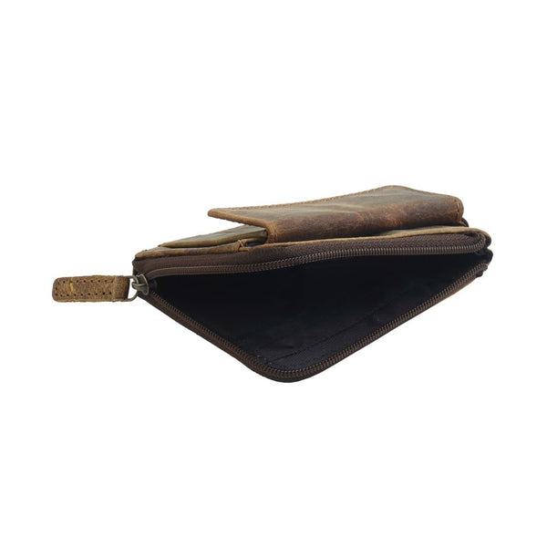 Myra Brown Glaze Leather Wallet