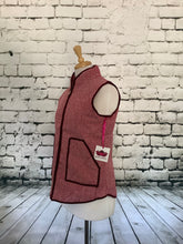 Load image into Gallery viewer, Katydid Vest (Maroon)
