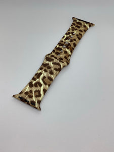 Apple Watch Band (Leopard Print)