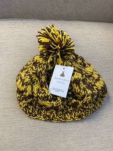 Yellow and Brown Beanie