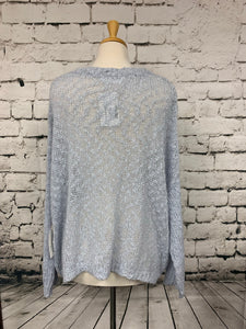 Blues & Greys Sweater OS