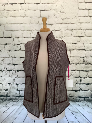 Katydid Vest (Brown)