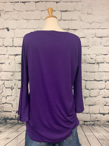 Steven Edwards 3/4 Bell Sleeve Top