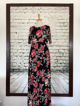 Load image into Gallery viewer, Blu Heaven Maxi Dress (Floral)
