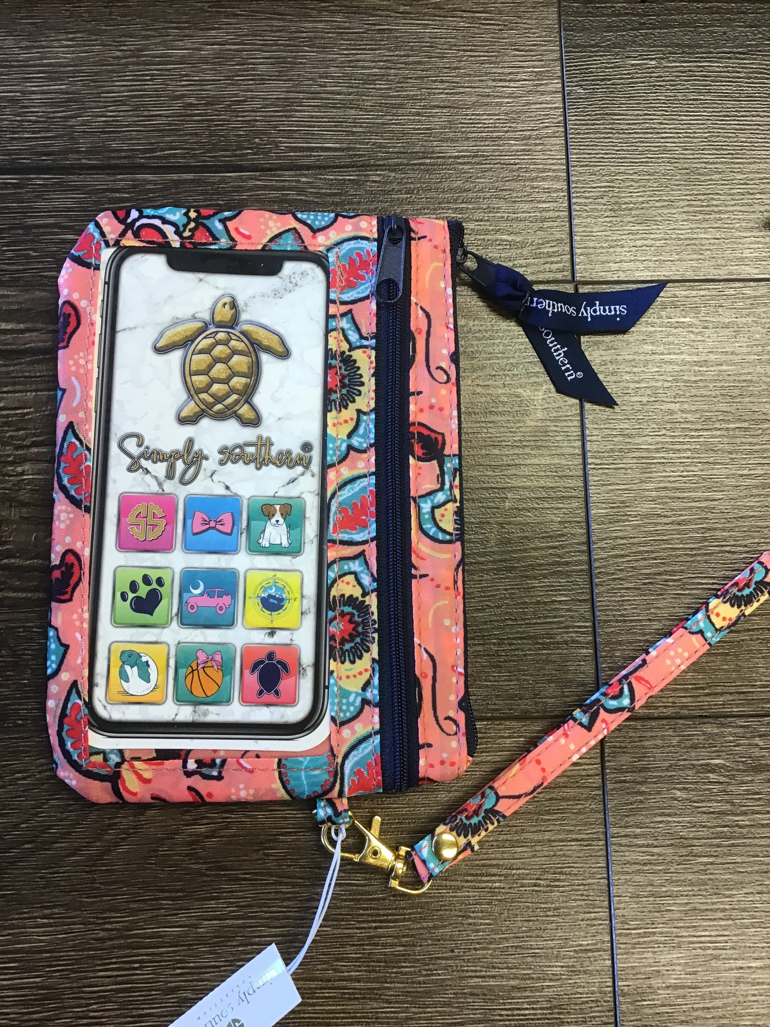 Simply Southern Wristlet with Phone Pocket