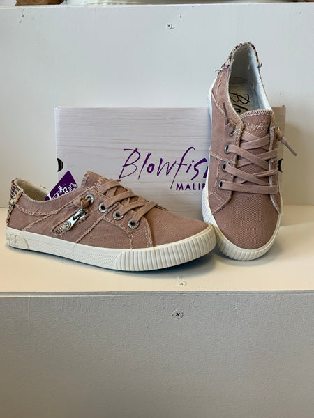 Blowfish Dirty Pink Canvas Shoe