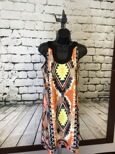 Aryeh Aztec Print Dress