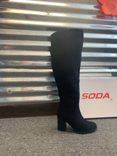Load image into Gallery viewer, Soda Mention Black Boot