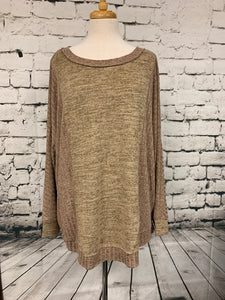 Kori Plus Rib Knit Top