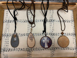 Handmade Wooden Necklaces