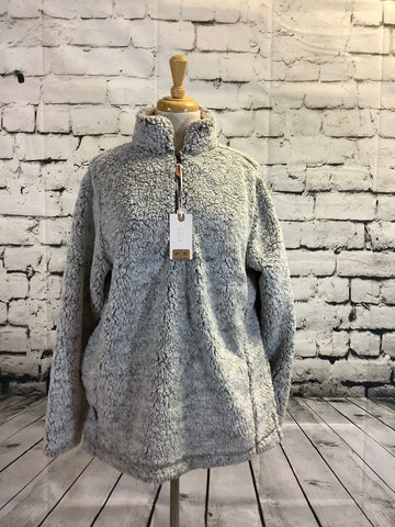 Simply Southern Sherpa (Light Grey)