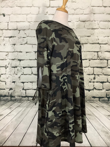Voll Camouflage Dress (Regular and Plus)