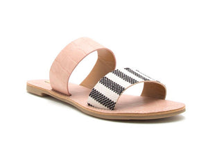 Two Band Slide Sandal