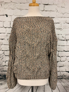 Kori Off Shoulder Sweater
