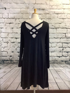 Simply Southern Dress (Black)