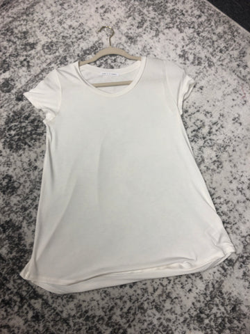Perfect Solid Tee (Creme)