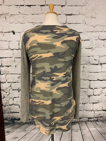 Again Camouflage LS Shirt